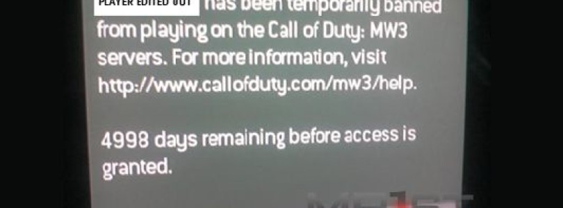 MW3 Player Banned For Almost 14 Years