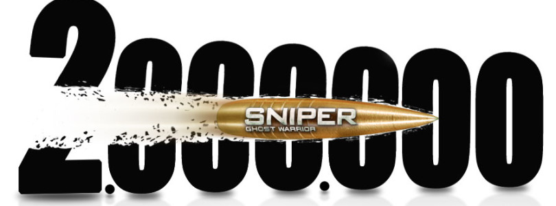 Sniper: Ghost Warrior Breaks Two Million Mark