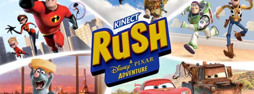 Kinect Rush: A Disney Pixar Adventure – New Awesome Trailer