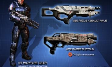 Mass Effect 3 Pre Order Bonus Revealed