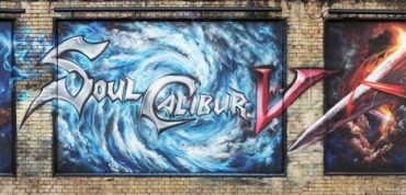 SoulCalibur V Graffiti Transforms London's East End