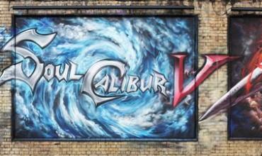 SoulCalibur V Graffiti Transforms London's East End