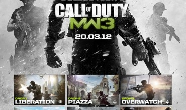 Call of Duty: Modern Warfare 3 Map Pack Dated March 20