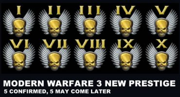 Modern Warfare 3 To Receive Five More Prestige Levels