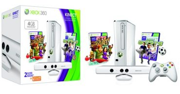 Limited Edition White 4GB Xbox 360 With White Kinect Bundle