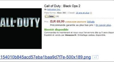 Black Ops 2 Confirmed By Amazon France