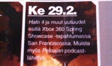 Microsoft Sending Halo 4 to the San Francisco Spring Showcase