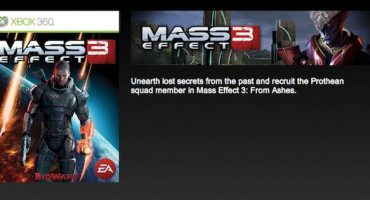 Mass Effect 3: From Ashes DLC Launch Day Release