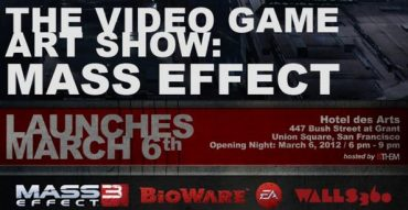 Mass Effect Art Exhibition Opens During the 2012 GDC