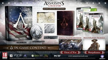 Assassin's Creed 3 – Join or Die Edition for XBOX 360: Better Than The Standard Game?