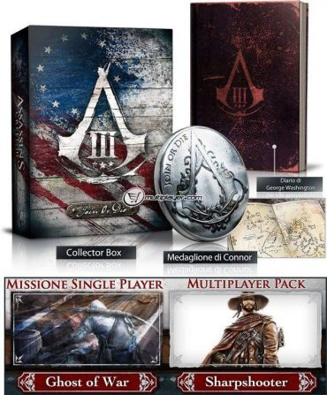 Assassins Creed III Collectors Edition's UPDATED