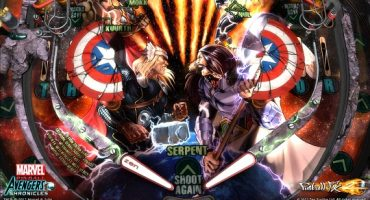 Marvel Pinball: Avengers Chronicles – World War Hulk Table