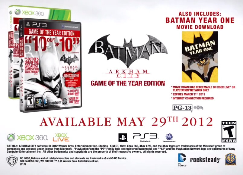 Batman: Arkham City Game of the Year Edition | This Is Xbox