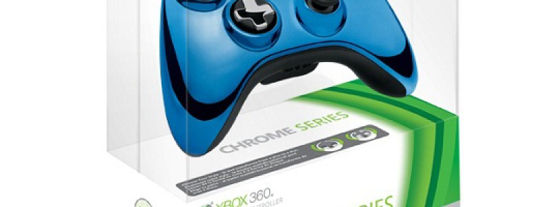 New Special Chrome Edition Controllers for Your Xbox 360