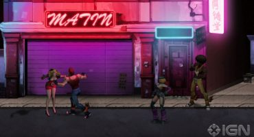 Double Dragon Returns In Neon Lights This Summer