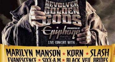 Revolver Golden Gods Rock Awards 2012 – First Xbox LIVE Stream Ever!