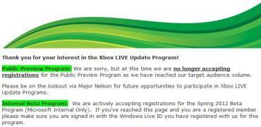 Microsoft Beta Testing Spring 2012 Dashboard Update