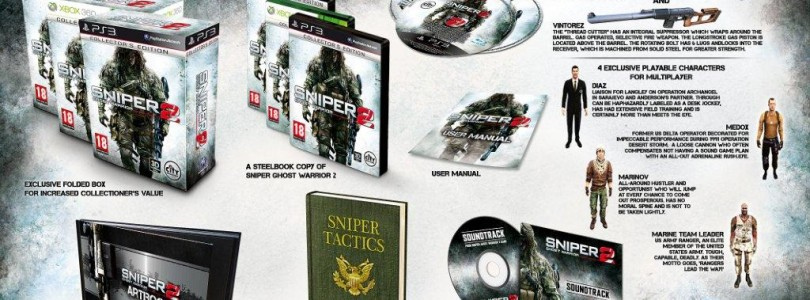 Sniper: Ghost Warrior 2 Collector's and Limited Editions Detailed