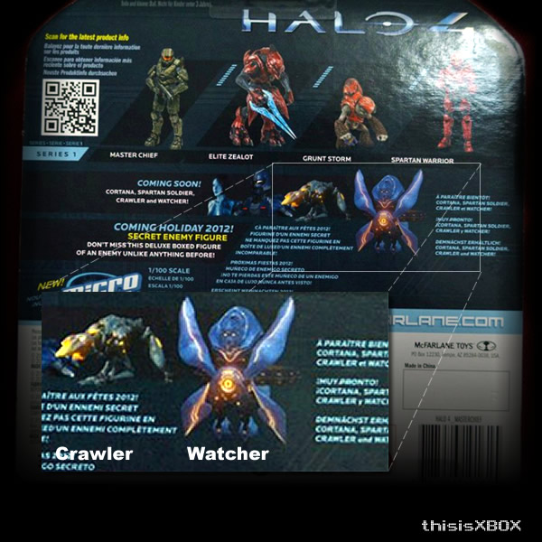 Halo 4 Enemies Watcher and Crawler Outed Via Toy Box | This