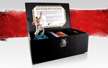 Street Fighter 25th Anniversary Collector's Set For Retail in Sept
