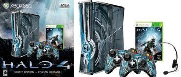 Microsoft Accidentally Let Slip Custom Designed Halo 4 Console Bundle