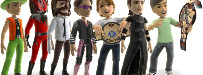 Xbox 360 Avatars Get Some Serious Attitude With WWE '13