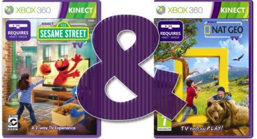 Kinect Sesame Street TV and Kinect Nat Geo TV Season Two Inbound