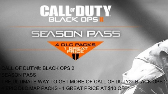 Call of Duty: Black Ops 2 - Season Pass Outed | This Is Xbox