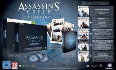 Assassin's Creed Anthology Exclusive To Amazon in the UK