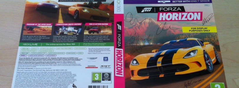 UK Competition Win Signed-by-the-Dev Team Forza Horizon Swag (CLOSED)