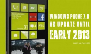 Windows Phone 7.8 Update Officially Dated For Early 2013