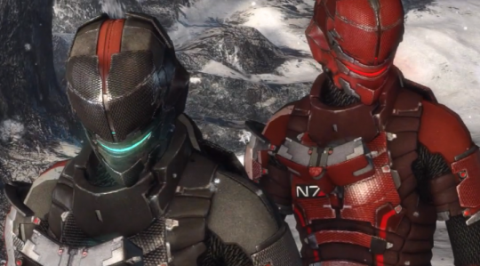 Dead Space 3   Mass Effect N7 Armor   YouTube