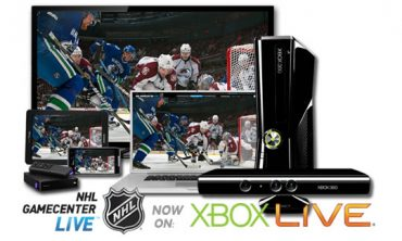 NHL GameCenter launches on Xbox LIVE Today