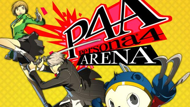 Persona 4 - Arena Logo 2