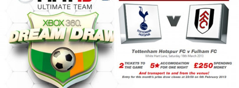 FIFA 13 Ultimate Team – UK Dream Draw Competition
