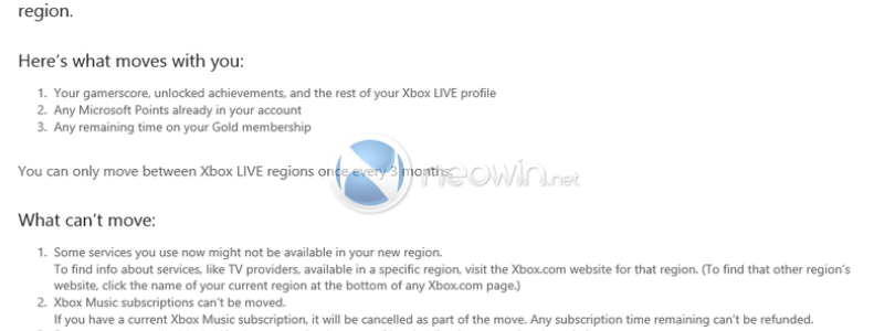 New Xbox LIVE Account Switch Regions Tool In Beta