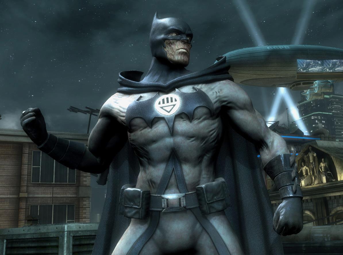 Batman Blackest Knight Alternate