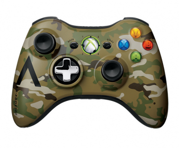 Xbox 360 Special Edition Camouflage Controller Hits Retail During May