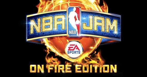 NBA Jam On Fire Edition Logo