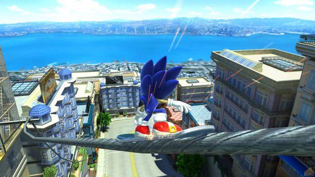 Sonic Adventure 2 Screen