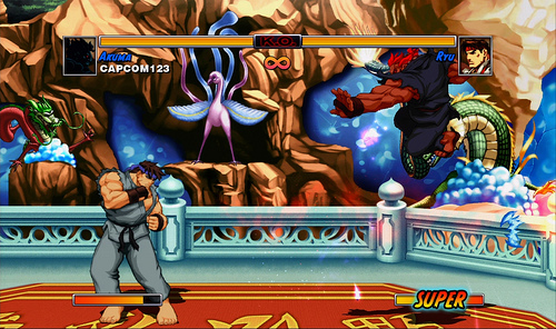 Super Street Fighter II Turbo HD Remix Screen