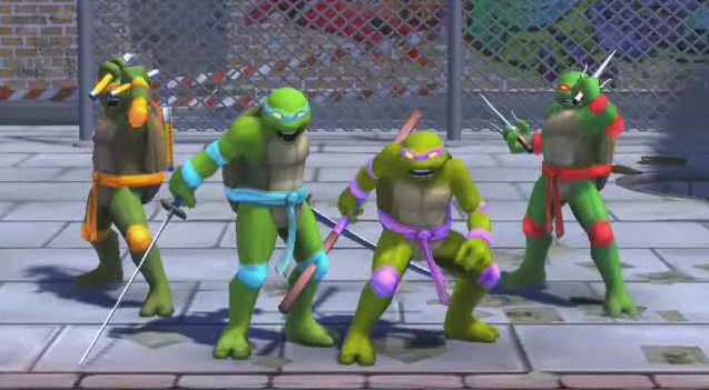 Turtles In Time Screen