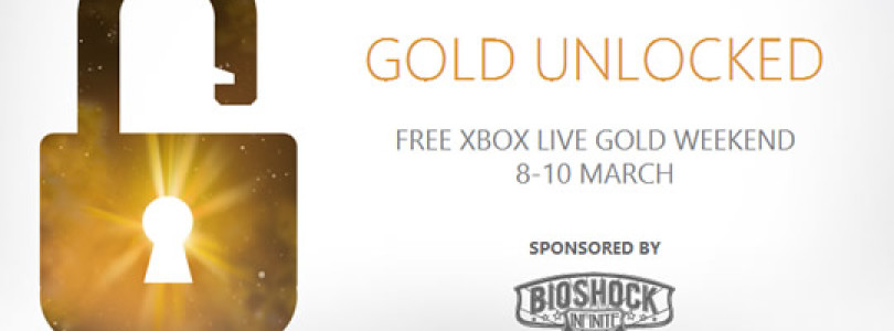 Reminder of the FREE Xbox LIVE Gold Weekend