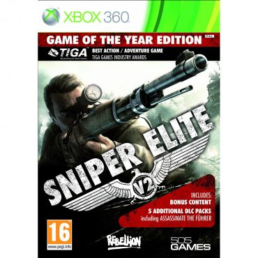 Sniper Elite V2 Game of the Year Edition Out Now