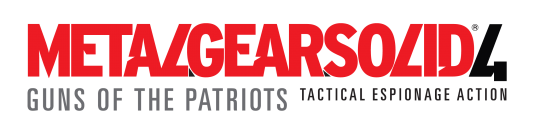 Metal Gear Solid 4 - Guns of te Patriots Logo