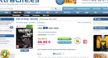 Another Retailer Outs Call of Duty: Ghosts