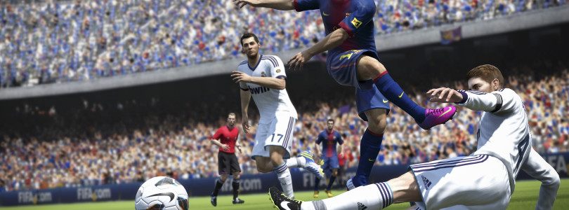 FIFA 14: Pure Shot & Real Ball Physics