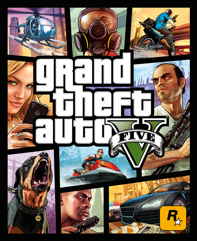 official gta v art