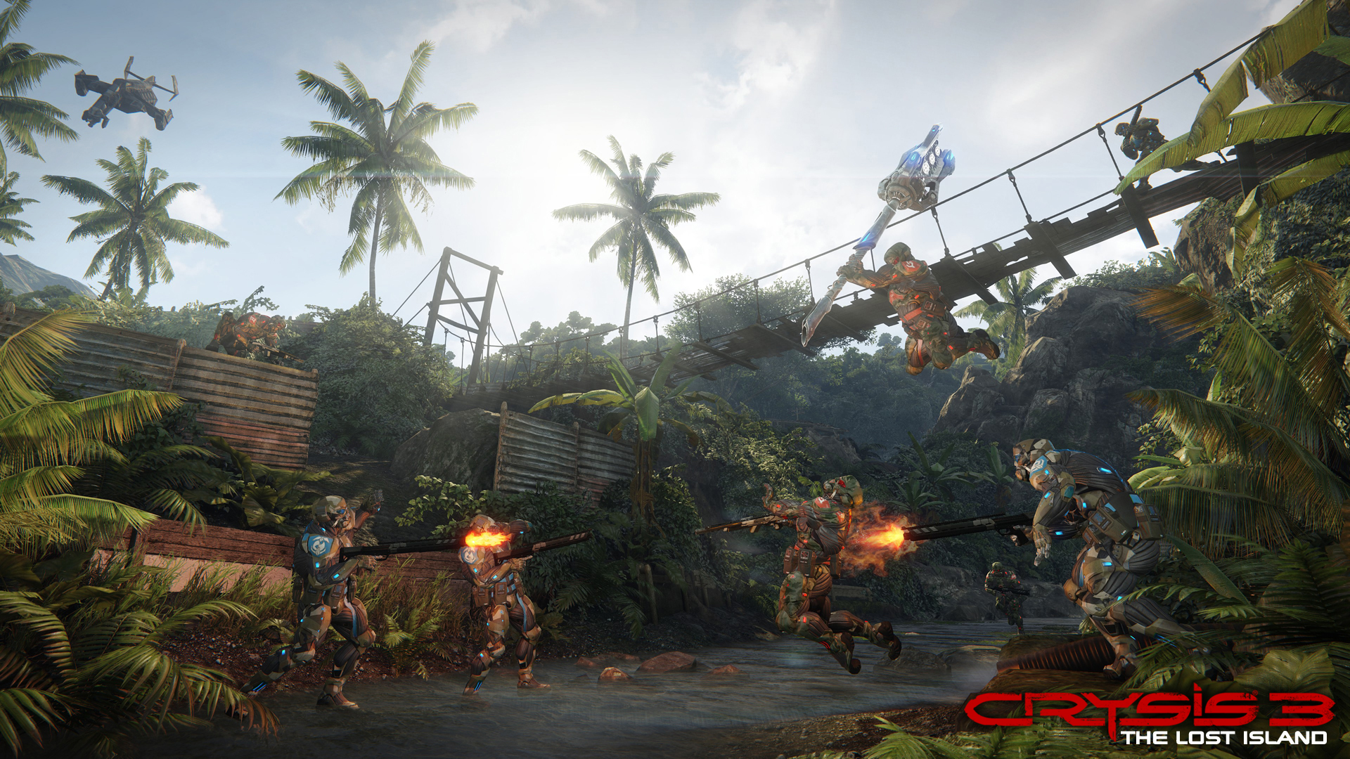 Crysis 3 - The Lost Island DLC - Creek 1