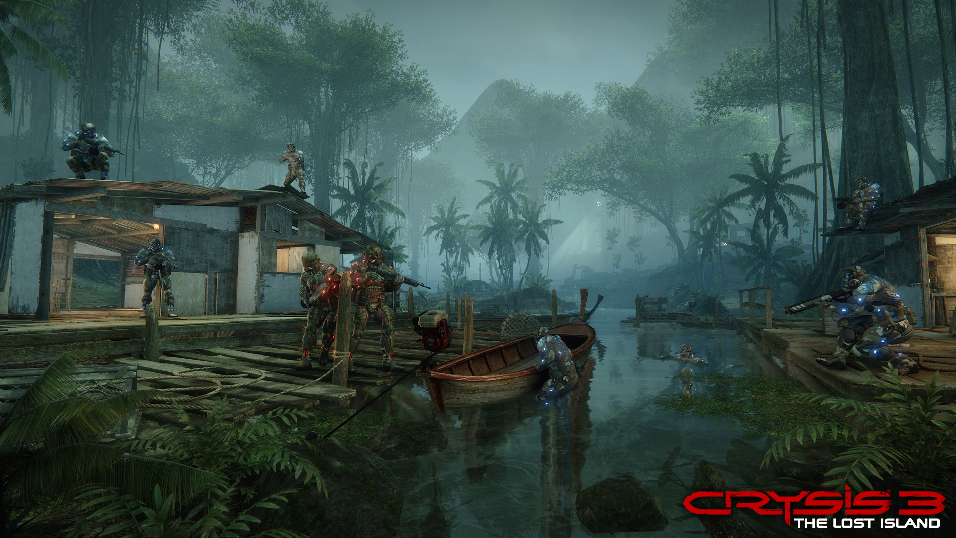 Crysis 3 - The Lost Island DLC -  Crossing 2